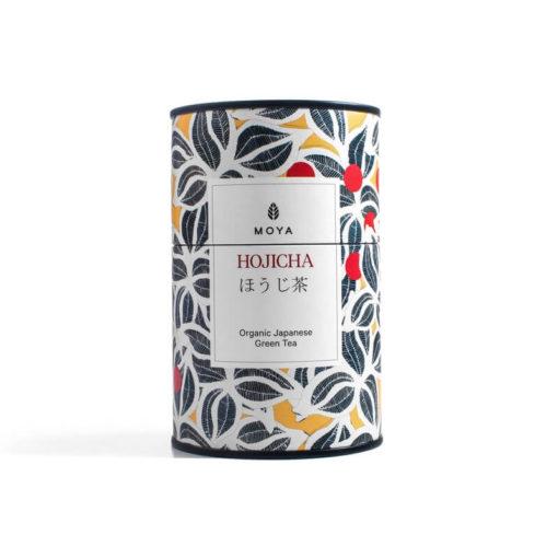 Moya Hojicha Organic Green Tea 60g tin