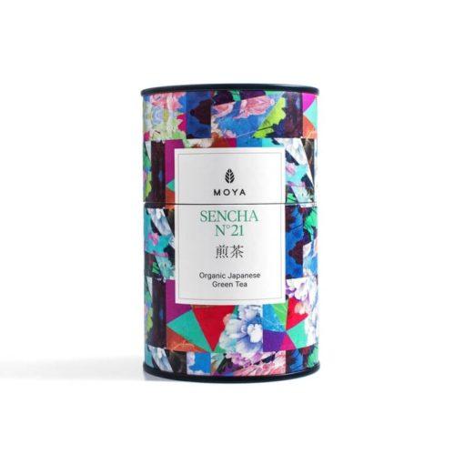 Moya Sencha Organic Green Tea 60g tin